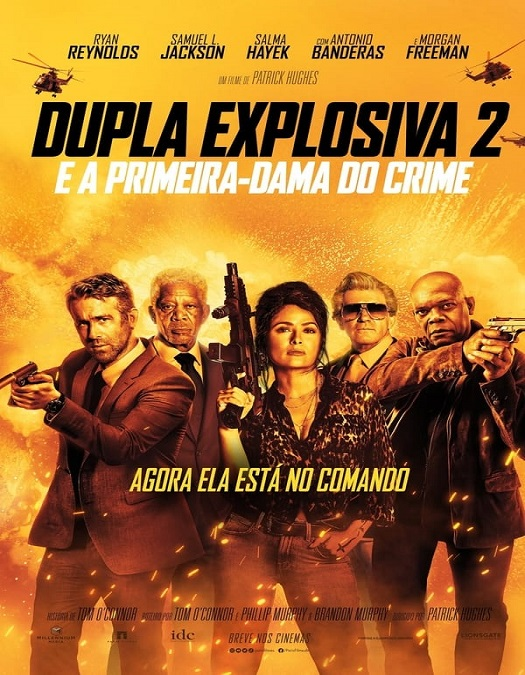 Dupla Explosiva 2 - E a Primeira-Dama do Crime Dublado