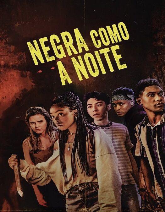 Negra Como a Noite Dublado